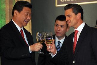 Enrique Peña Nieto México, Xi Jinping China