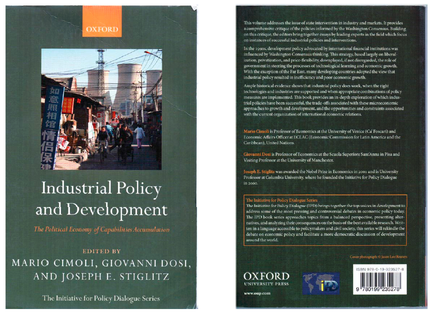 Industrial policy and development_book