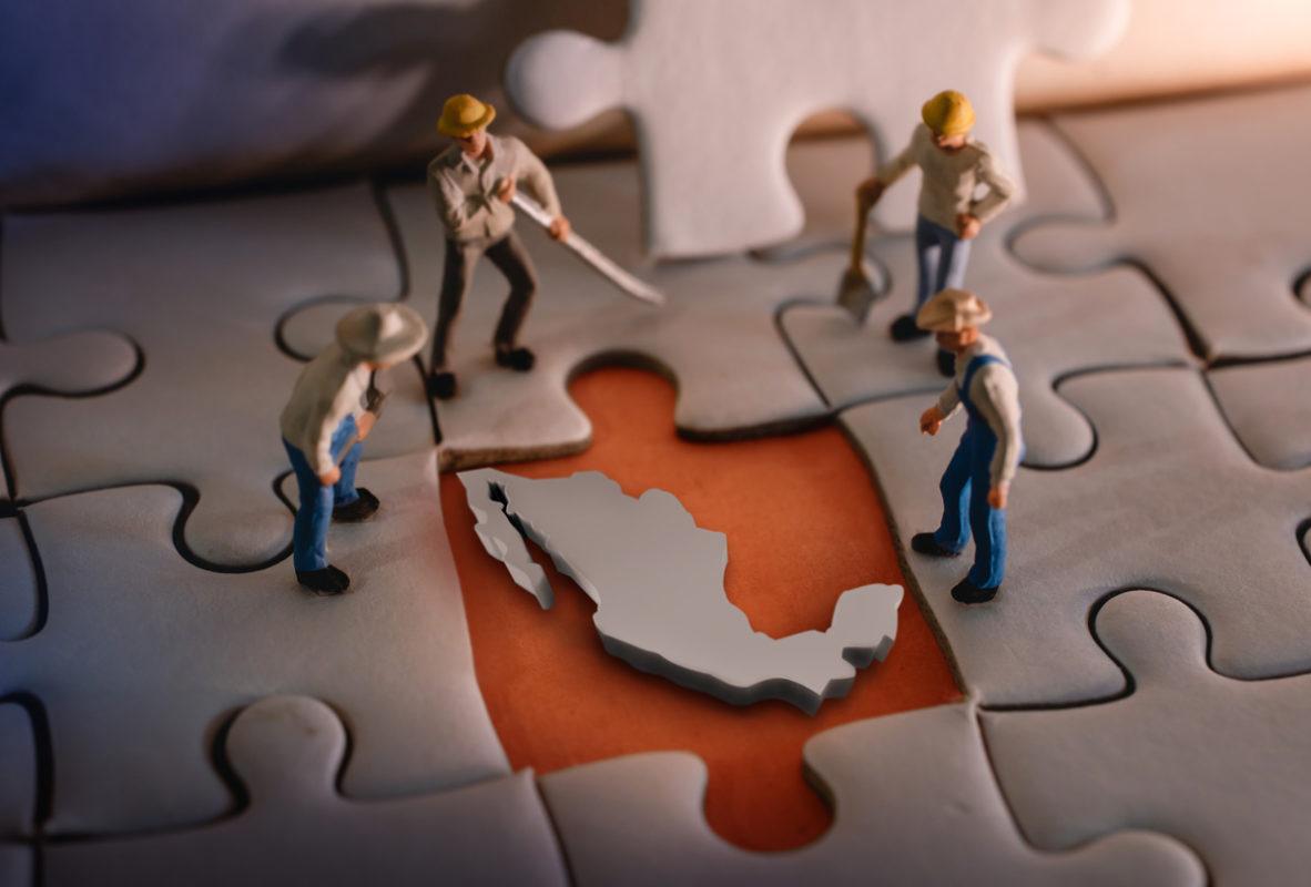 Trabajo México Mapa