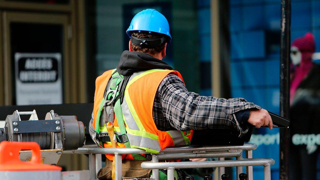 Industria Plan de Infraestructura obrero contratista construcción