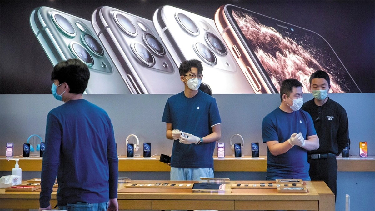 apple store prevencion enfermedad cubrebocas