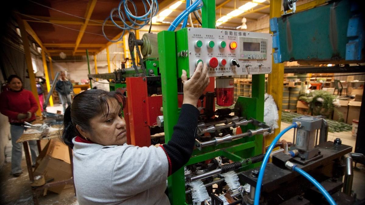 manufactura planta industria economia