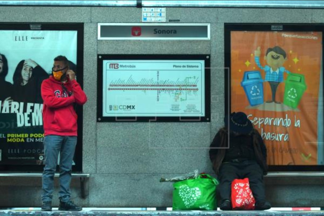 Metro bus CDMX – EFE Jorge Nunez