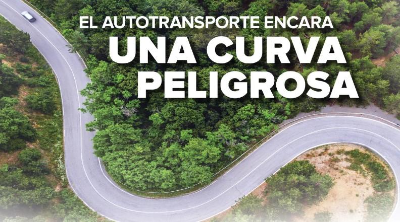 Revista TyT transporte y turismo curva peligrosa