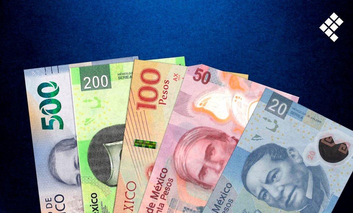 Dinero mxn pesos billete