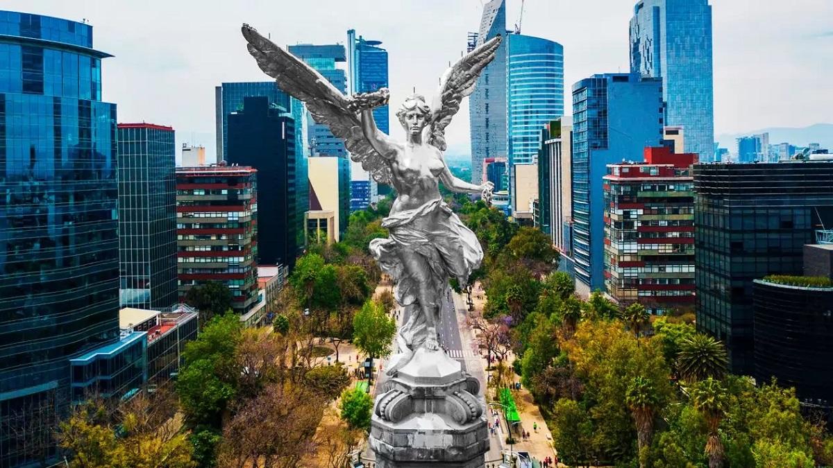 Victoria Alada- Monumento a la Independencia