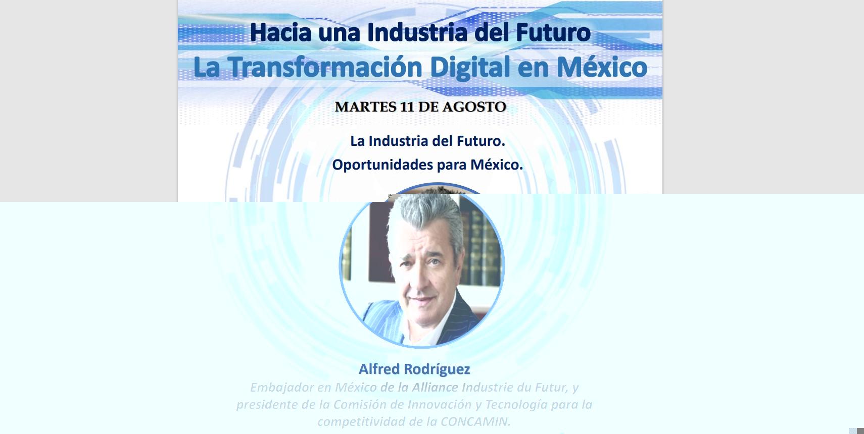 allfred rodriguez industria del futuro