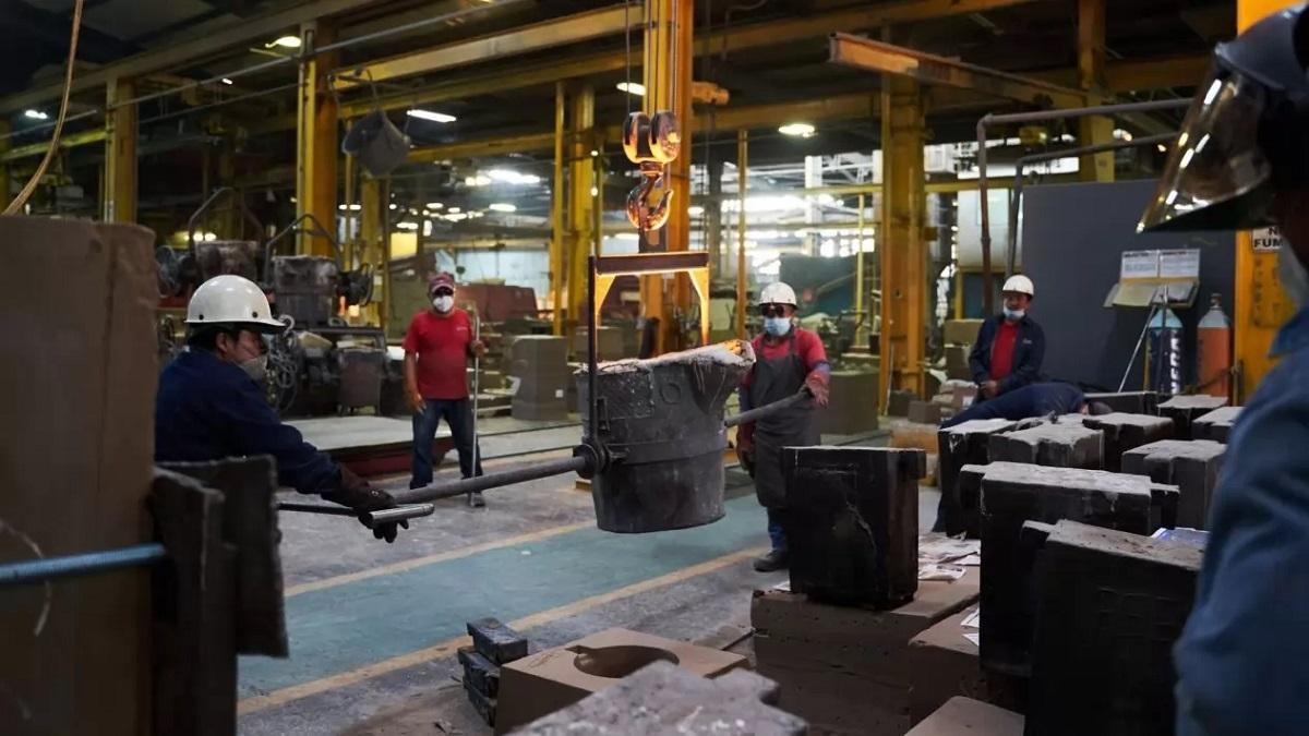 industria producción planta empleo